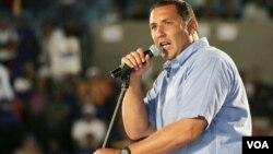 """El gobernador de Zulia, Pablo Pérez dijo que la oposición en Venezuela espera """"poder lograr una victoria popular para iniciar un gobierno de unidad nacional""""."""