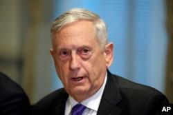 General Jim Mattis, secretario de Defensa de EE.UU.