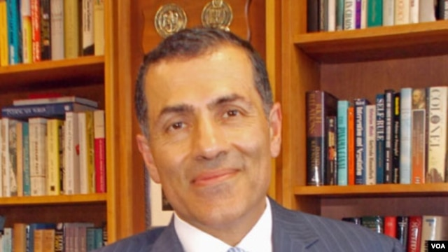 Vali Nasr, dean of Johns Hopkins University's School of Advanced International Studies (SAIS)