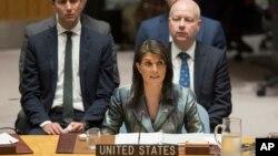 نیکی هیلی نماینده دائم ایالات متحده در سازمان ملل متحد - آرشیو