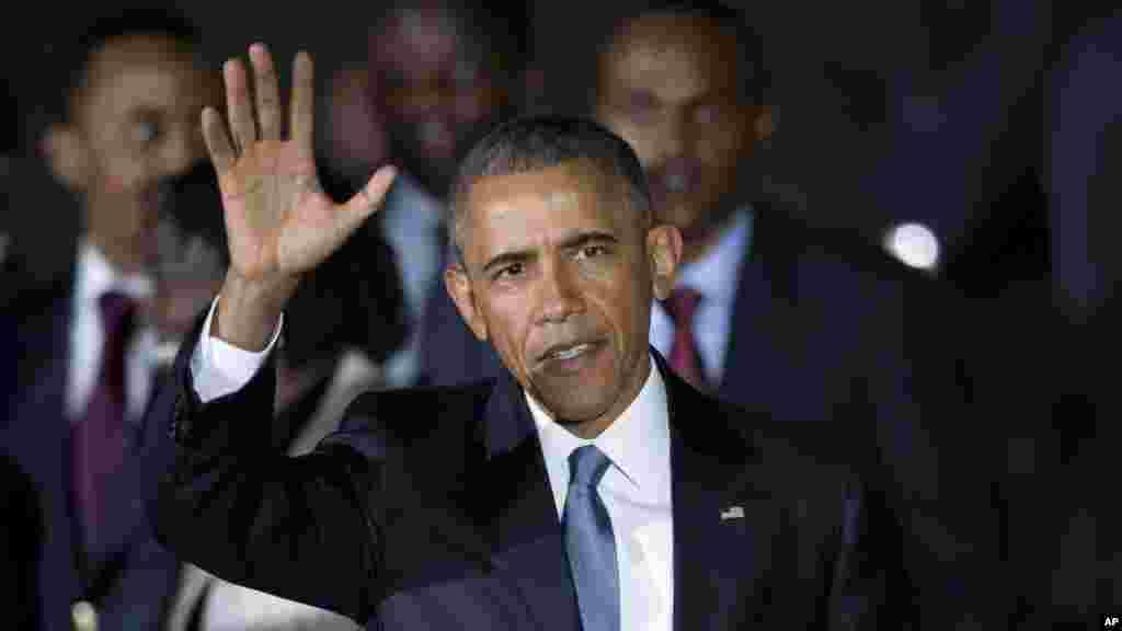 Rais Obama amewasili Nairobi
