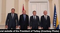 Predsjednik Turske se sastao sa članovima Predsjedništva BiH, Sarajevo, 8. juli