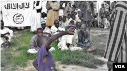 Boko Haram boy whipped