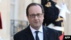 Le président français François Hollande, 27 septembre 2016.