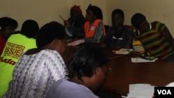 Malawian women attend a writing workshop in Blantyre (Photo Courtesy: M. Tuchscherer)