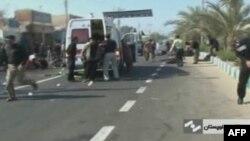На месте теракта