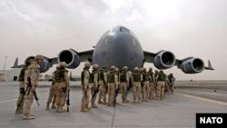 NATO askarlari Afg'onistonni tark etmoqda