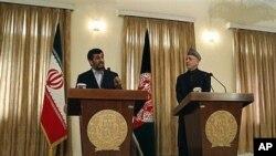 حامد کرزی در سفر به ایران به مسئله مبارزه با دهشت افکنی و مواد مخدر نیز بحث و مذاکره صورت می گیرد.