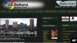 Web sajt Američko-balkanskog poslovnog summita