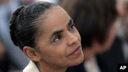 Marina Silva, candidata do PSB