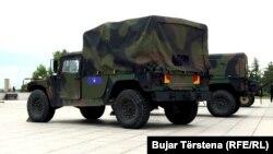 Vozila Humveeji Kosovskih bezbjednosnih snaga