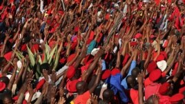 A new party, the Economic Freedom Fighters, wants to create jobs and redistribute wealth by nationalizing the mining sector.