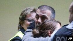Familiares das vítimas do voo 4U 9525 da Germanwings
