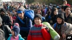 مهاجرت به اروپا در مقایسه با سال ۲۰۱۵ کاهش یافته است