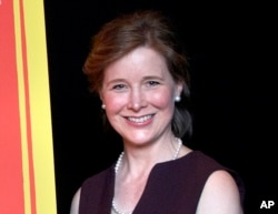 FILE - Author Ann Patchett at The David H. Koch Theater in New York, Oct. 16, 2012.