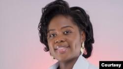 Nádia Camate, especialista em medicina interna e emergência médica