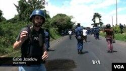 VOA Reporter Gabe Joselow in Bujumbura