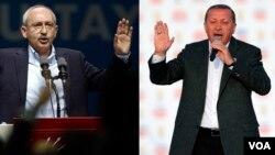 Kemal Kılıçdaroğlu ve Recep Tayyip Erdoğan