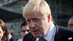 Walikota London Boris Johnson akan ikut dalam kampanye untuk mendorong Inggris keluar dari blok Uni Eropa (foto: dok).
