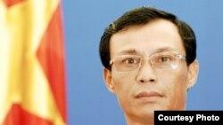 Phát ngôn viên Bộ Ngoại giao Việt Nam Lương Thanh Nghị.