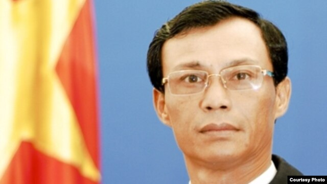Phát ngôn viên Bộ Ngoại giáo Việt Nam Lương Thanh Nghị