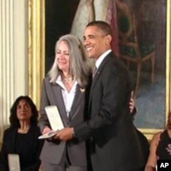 Mary Ann Phillips received the 2010 Presidential Citizens Medal for her work with wounded American soldiers.