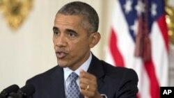 Presiden Obama mengancam akan memveto RUU yang memperlambat masuknya migran Suriah ke Amerika Serikat (Foto: dok).