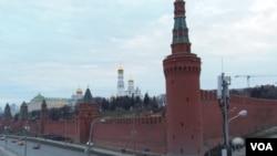 莫斯科克里姆林宮。俄羅斯想成為亞太地區的獨立力量。(美國之音白樺拍攝)
