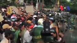 A Woman Killed in Cambodia Worker Protest