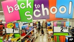 Shopping for school supplies has become one of the stressful activities of the new school year.