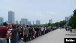 镇江退伍军人抗议疑被驱散 局势仍严峻