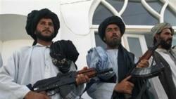 عده ای از نیروهای طالبان