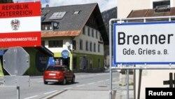 지난 12일 오스트리아와 이탈리아 접경 지역의 브레너 국경통과소.