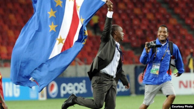 Cabo Verde vence Angola no CAN 2013 (Foto SAPO)