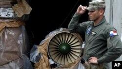 Uno de los motores de los cazas de combate rusos MiG21 que Cuba enviaba a Corea del Norte, están ahora bajo custodia de Panamá.