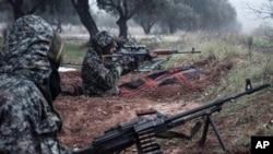 Abarwanya ubutegetsi mu gihugu ca Syria