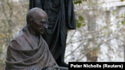 Estátua de Ghandi em Londres