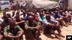 Ex-guerrilheiros da Renamo detidos no ano passado em Nampula