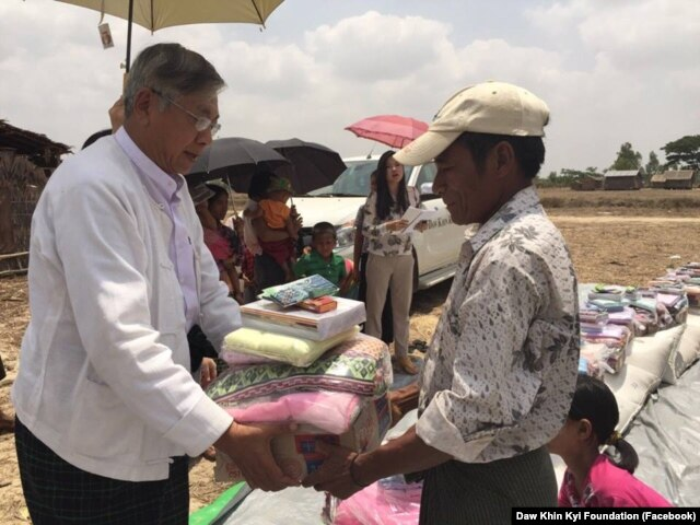 Htin Kyaw is a longtime and trusted aide of Aung San Suu Kyi.