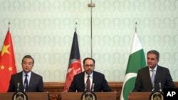 Afganistan, Pakistan û Çîn