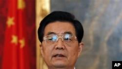 中國最高領導人胡錦濤