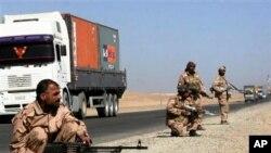 Osiguranje konvoja koji opskrbljuje misiju NATO saveza u Afganistanu