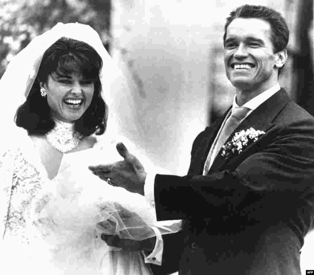26 апреля 1986г. день свадьбы Арнольда Шварценеггера и Марии Шрайвер