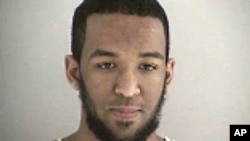 FILE – This undated file photo provided by the Butler County Jail in Hamilton, Ohio, shows Munir Abdulkader of West Chester Township. He was sentenced Nov. 23, 2016, for plotting attacks against a U.S. military official and a police station.