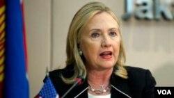 Hilary Clinton (VOA)