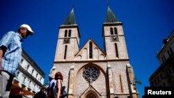 Katedrala Srca Isusova u Sarajevu, 28. juli. 2017.