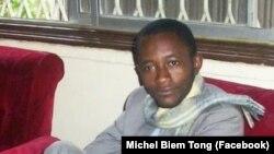 Le journaliste camerounais Michel Biem Tong.