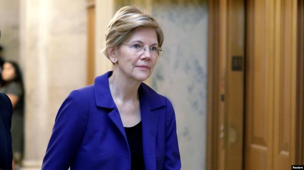 Bà Elizabeth Warren là một thượng nghị sỹ nổi bật bên Đảng Dân chủ