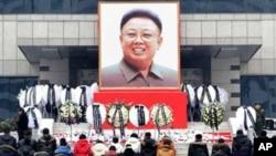 北北韓為金正日葬禮做準備。(資料圖片)