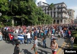 Protesti u Havani, 11. juli 2021